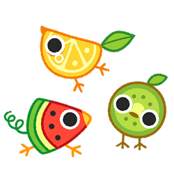 Fruitbirds by Sprits