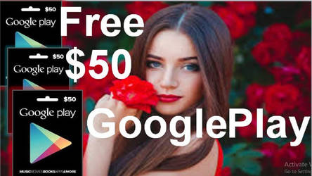 $50 Google play gift card giveaway. by masudely