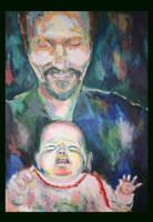 Me and my dad by mushroomline