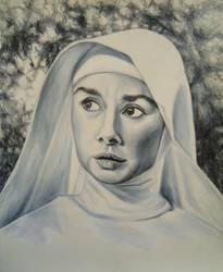 Audrey Hepburn 'The Nun's Story' by JeremyOsborne
