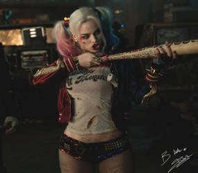 Harley Quinn Suicide Squad - Beautiful Dangerous by AxzlRose