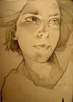 Self portrait by Yustina-H