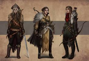 Vasilisa Character Ideations by Somatrasiel