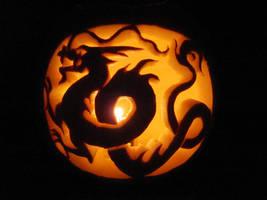 Halloween Pumpkin '09 by Zanne