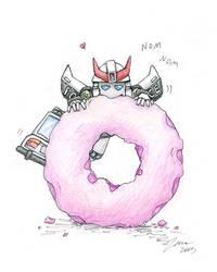 Prowl's Doughnut by Zanne