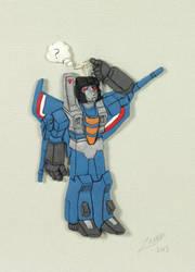 TF: Thundercracker Magnet by Zanne