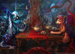 Outer Worlds Teaparty by bloodrizer