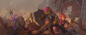 Cutie Mark Crusaders by bloodrizer