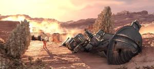 Unsuccessful mission - explorer down. by jedgraph