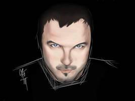 Lee Tockar portrait by Xenia-Cat