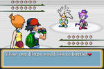 Ash and Misty vs Silver and Blaze by BeeWinter55