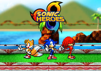 266. Sonic Heroes by BeeWinter55