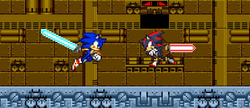 268. Sonic vs Shadow by BeeWinter55