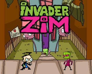 277. Invader Zim by BeeWinter55