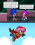 Where did Amy go? by BeeWinter55