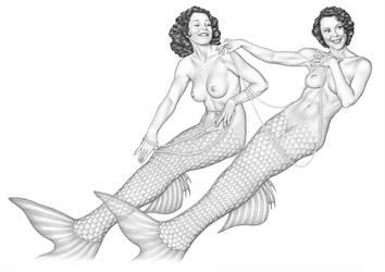 Hollywood Mermaids by MarkBlanton