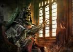 The Elder King by Fran-Hdez