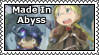 Made In Abyss Stamp by Riveree