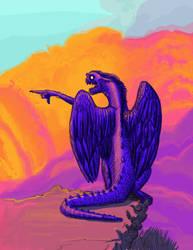 The Dark Dragon by vonnbriggs