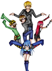 Group picture~ by VeoGirl