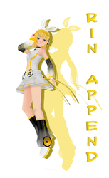 MMD - Rin Append by VeoGirl