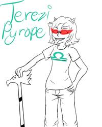 WIP - Terezi Pyrope by VeoGirl