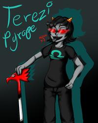 Terezi Pyrope - H3H3 by VeoGirl