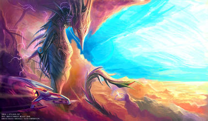 Lightning Coronatus by thraxllisylia