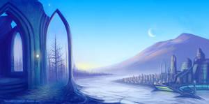 Twilight by thraxllisylia
