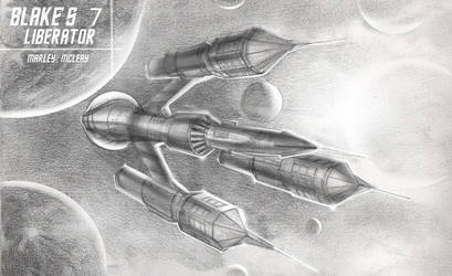 Blake's 7 - The Liberator by thraxllisylia