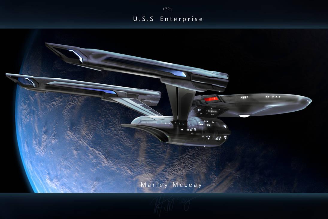Star Trek Discovery Uss Enterprise Refit. by thraxllisylia