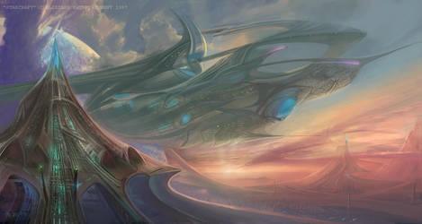 Hybrid Realm by thraxllisylia