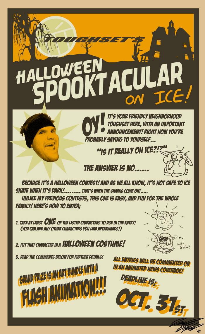 Halloween Contest Flyer By Toughset On DeviantArt