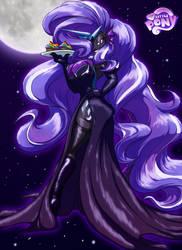 Halloween 2013, Natasha as Nightmare Rarity by Toughset