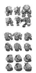 Nokbak Character Concepts 7 by Toughset