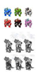 Nokbak Character Concepts 8 by Toughset