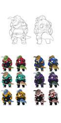 Nokbak Character Concepts 9 by Toughset