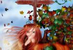 Pixies Amongst the Pumpkins by Dani3D