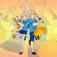Adventure Time! by afuji