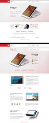 Electronics company redesign by F-l-a-g