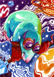The Cosmic Mole by Kkulkutauti