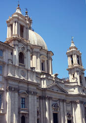 Sant'Agnese in Agone by cloe-may