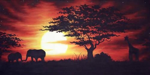 savanna by cloe-may
