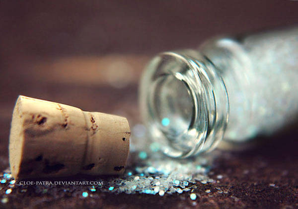 a bottle full of magic by cloe-may