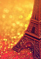 Eiffel Tower miniature by cloe-may