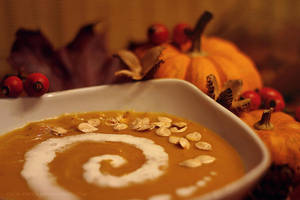 week43: pumpkin soup by cloe-may