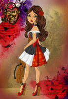 Ever After High: Rubie Red (OC) by SinayaStarChild