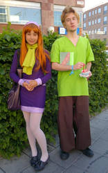Scooby gang: Daphne Blake by BennyBerry