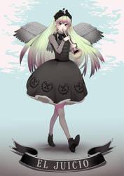Lolita tarot - The Judgement by macarena