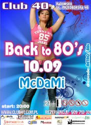 Back to 80s  - Club40 by damid